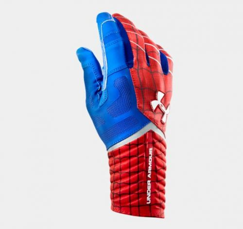 Receivergloves, Highlight Captain America,  Under Armour - Bild 2