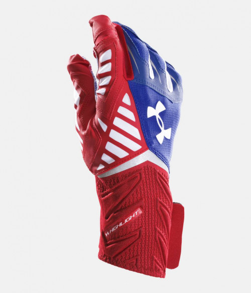 Receivergloves, Highlight Captain America,  Under Armour - Bild 3